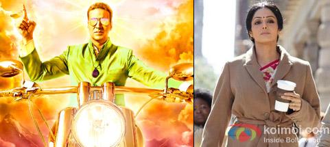 Akshay Kumar from OMG Oh My God! Movie & Sridevi from English Vinglish Movie
