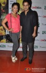 Pawan Shankar At Login Movie Special Screening
