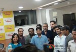 Prakash Jha And Abhay Deol Promoting Chakravyuh Movie In Delhi