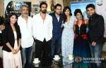 Prakash Jha, Arjun Rampal, Abhay Deol, Esha Gupta And Anjali Patil At Chakravyuh Movie Premiere In London