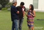 Prakash Jha And Manoj Bajpai Promoting Chakravyuh Movie In Delhi