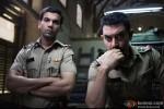 Raj Kumar Yadav and Aamir Khan don a tough cop look in Talaash Movie Stills