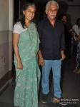 Ratna Pathak And Naseeruddin Shah At Jaane Bhi Do Yaaro Movie Special Screening