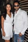 Ravee Gupta And Manoj Biddvai At Shatranj Napoli and Polpo Cafe & Bar Launch