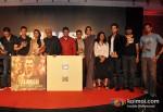 Ritesh Sidhwani, Aamir Khan, Rani Mukerji, Javed Akhtar, Bhushan Kumar, Ram Sampath, Sona Mohapatra, Zoya Akhtar, Raj Kumar Yadav And Farhan Akhtar At Talaash Movie Music Launch
