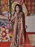 Rituparna Sengupta Visits DN Nagar Sarbojanik Durga Puja At Andheri Link Road Pic 3