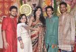 Romeer Sen, Kajal Sen, Rituparna Sengupta Roman Sen And Krishnendu Sen Visits DN Nagar Sarbojanik Durga Puja At Andheri-Link Road