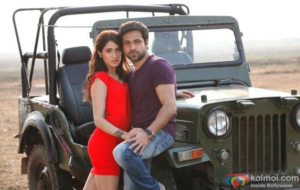 Sagarika Ghatge and Emraan Hashmi in a still from Rush Movie