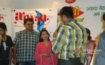 Sachin Kundalkar And Rani Mukerji Promoting Aiyyaa Movie With Chai Poha
