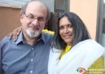 Salman Rushdie And Deepa Mehta In Midnight's Children Movie Stills