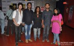Sanjeev Reddy, Anusha Srinivasan Iyer And Raj Ponugupati At Login Movie Special Screening
