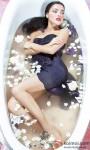 Sexy Kristina Akheeva in a bath tub