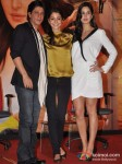 Shah Rukh Khan, Anushka Sharma And Katrina Kaif At Jab Tak Hai Jaan Movie Press Conference