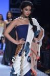 Shriya Saran walks the ramp at Lakme Fashion Week Summer/Resort 2013