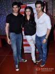 Sidharth Malhotra, Alia Bhatt And Varun Dhawan Promoting Student Of The Year Movie At Cinemax