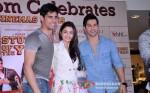 Sidharth Malhotra, Alia Bhatt And Varun Dhawan Unveils Movie Merchandise At Infiniti Mall In Mumbai Pic 2