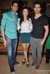 Sidharth Malhotra, Alia Bhatt and Varun Dhawan Promoting Student Of The Year Movie At Starbucks Coffee Shop