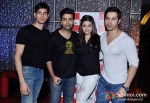 Sidharth Malhotra, Karan Johar, Alia Bhatt And Varun Dhawan Promoting Student Of The Year Movie At Cinemax Pic 2
