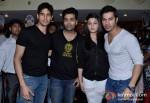 Sidharth Malhotra, Karan Johar, Alia Bhatt And Varun Dhawan Promoting Student Of The Year Movie At Cinemax Pic 1
