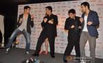 Sidharth Malhotra, Karan Johar And Varun Dhawan Unveils Filmfare Magazine October 2012 Issue