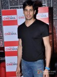 Sidharth Malhotra Promoting Student Of The Year Movie At Cinemax Pic 1