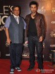 Subhash Ghai And Ranbir Kapoor At Colors People's Choice Awards