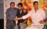 Sunil A Lulla And Akshay Kumar At Khiladi 786 Movie Teaser Trailer Launch