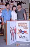 Varun Dhawan, Alia Bhatt And Sidharth Malhotra Unveils Movie Merchandise At Infiniti Mall In Mumbai Pic 4