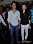 Varun Dhawan And Alia Bhatt Promoting Student Of The Year Movie At Cinemax