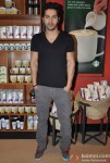 Varun Dhawan Promoting Student Of The Year Movie At Starbucks Coffee Shop