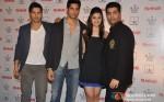 Varun Dhawan, Sidharth Malhotra, Alia Bhatt And Karan Johar Unveils Filmfare Magazine October 2012 Issue