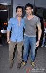 Varun Dhawan And Sidharth Malhotra Unveils Movie Merchandise At Infiniti Mall In Mumbai