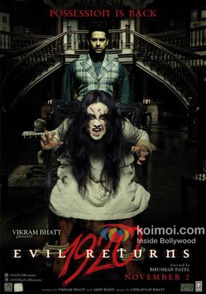 1920 - Evil Returns Review (1920 - Evil Returns Movie Poster)