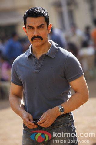 Aamir Khan in a still from Talaash Movie