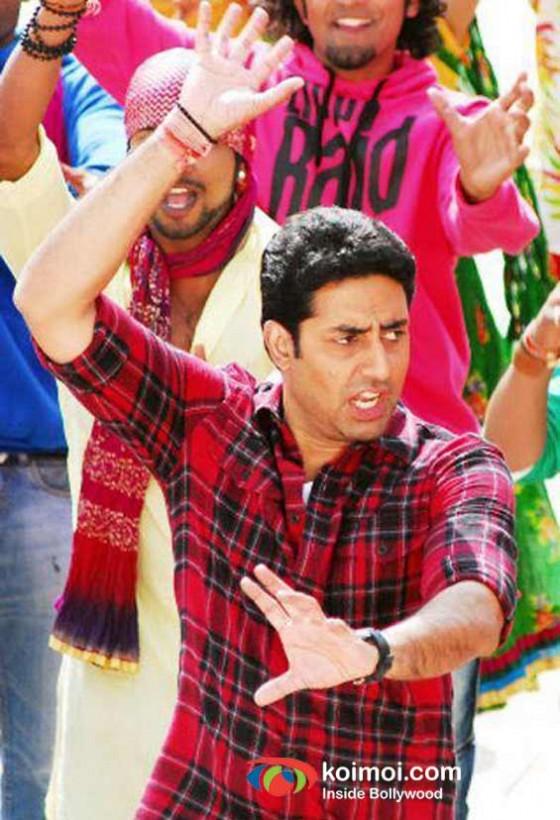 Abhishek Bachchan Bol Bachchan Movie Stills