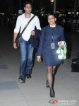 Abhishek Bachchan Snapped at the Airport Pic 1