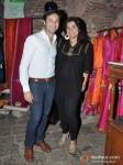Aditya Hitkari And Divya Palat Unveils Her Designer Line At Melange