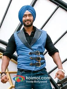 Ajay Devgan In Son Of Sardaar Movie Stils