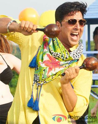 Akshay Kumar in a still from Khiladi 786 Movie