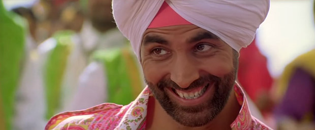 Akshay Kumar in a still from Singh is Kinng Movie
