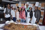 Aman Trikha, Ekta, Nikita Rawal, Dolly Bindra, Bob La Castra, Aiysha Saagar, Satish Shetty At Cake Mixing Event at Peninsula Grand Pic 1