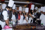 Aman Trikha, Yogesh Lakhani, Dolly Bindra, Nikita Rawal, Chandi Perera At Cake Mixing Event at Peninsula Grand Pic 1