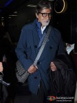 Amitabh Bachchan Snapped At the Airport Pic 2