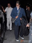 Amitabh Bachchan Snapped At the Airport Pic 1