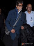 Amitabh Bachchan Snapped At the Airport Pic 5