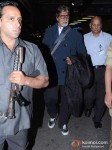 Amitabh Bachchan Snapped At the Airport Pic 4