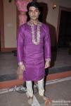 Anas Rashid on the sets of Star Parivar