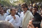 Anil Ambani And Amitabh Bachchan Pays Homage To Balasaheb Thackeray Pic 2