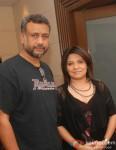 Anubhav Sinha with Abha Banerjee