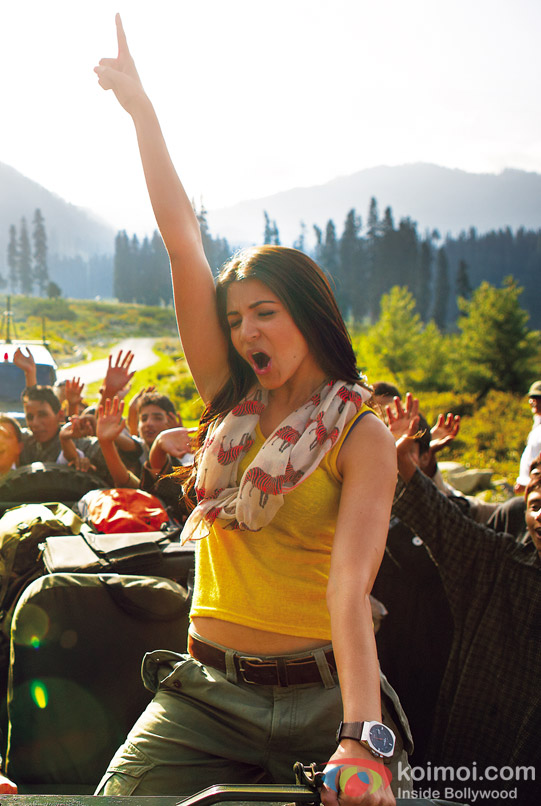 Anushka Sharma in Jab Tak Hai Jaan Movie Stills